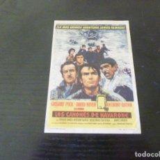 Folhetos de mão de filmes antigos de cinema: PROGRAMA DE CINE IMPRESO EN LA PARTE TRASERA. Lote 288144198