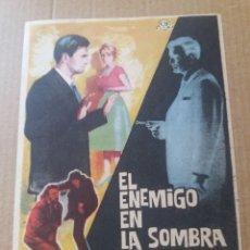 Cine: EL ENEMIGO EN LA SOMBRA. Lote 288156903