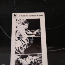 Cine: PROSPECTO PIBLICIDAD / QUIEN TEME A VIRGINIA WOOLF / ELIZABETH TAYLOR-RICHARD BURTON 1968. Lote 288205858