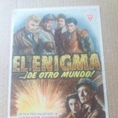 Cine: EL ENIGMA DE OTRO MUNDO. Lote 288205973