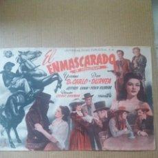 Cine: EL ENMASCARADO. Lote 288207623