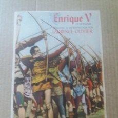 Cine: ENRIQUE V CON PUBLICIDAD VILLAMARTA JEREZ. Lote 288209748