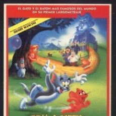 Cine: P-9638- TOM Y JERRY: LA PELÍCULA (TOM AND JERRY: THE MOVIE). Lote 288311468