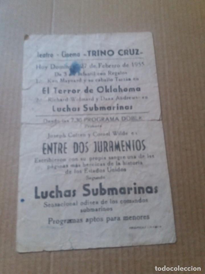 Cine: Entre dos juramentos con Publicidad Teatro Cinema Trino Cruz La Linea - Foto 2 - 288314313