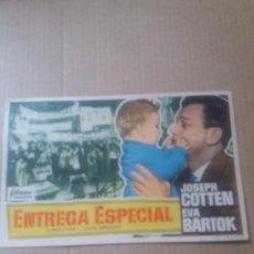 Cine: ENTREGA ESPECIAL. Lote 288373183