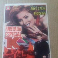 Cine: ENVIADO ESPECIAL K. Lote 288374543