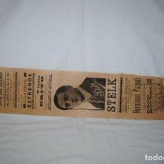 Cine: CINE ESCUDERO , SITUADO EN EL MUELLE , CADIZ 1911. Lote 289026768