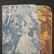 Cine: PRIMAVERA, JEANETTE MACDONAL, SALON SOLERGASTO DE AMER, GERONA. Lote 289200548