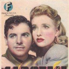 Cine: SABOTAJE.- PROGRAMA DE MANO. CINEMA GOYA ZARAGOZA. Lote 289315188