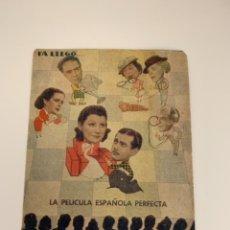 Cine: JULIETA Y ROMEO - DOBLE - CON PUBLICIDAD. Lote 289479303