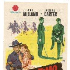 Cine: SENCILLO EL ULTIMO BALUARTE 1957 EDUCACION Y DESCANSO EMPRESA DE CINE SANTA COLOMA DE QUERALT. Lote 289595003