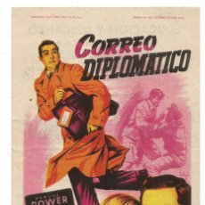 Cine: SENCILLO CORREO DIPLOMATICO 1953 EDUCACION Y DESCANSO EMPRESA DE CINE SANTA COLOMA DE QUERALT. Lote 289598958