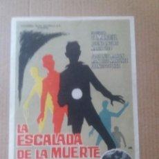 Cine: LA ESCALADA DE LA MUERTE. Lote 289616113