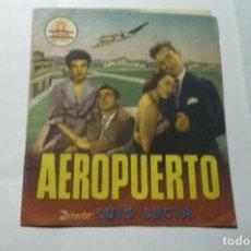 Cine: PROGRAMA DOBLE AEROPUERTO .-F.FERNAN GOMEZ PUBLICIDAD. Lote 289645673