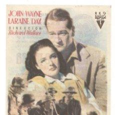 Cine: SENCILLO HOMBRES DE PRESA 1949 CINE CULTURAL RECREATIVO DE E. D. STA COLOMA DE QUERALT. Lote 289667083