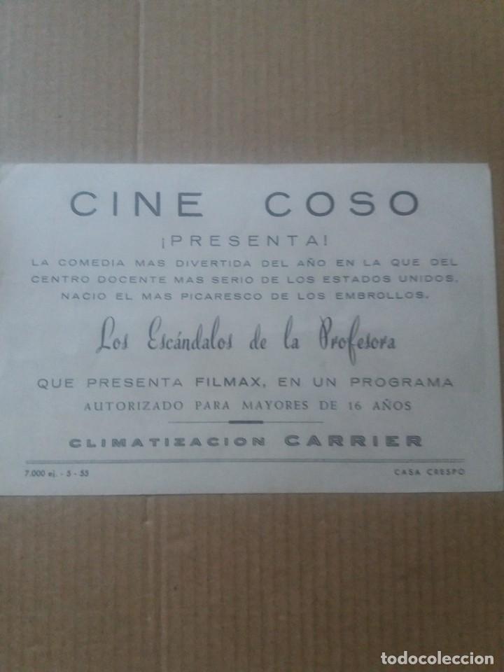 Cine: Los escándalos de la profesora con Publicidad Cine Coso - Foto 2 - 289722653