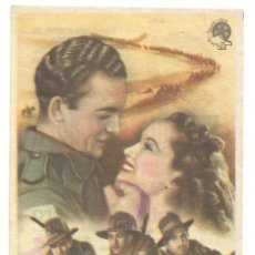 Cine: LA CARGA DE LOS 40.000 JINETES 1947 CINE CULTURAL RECREATIVO DE E. D. STA COLOMA DE QUERALT. Lote 289797193