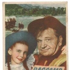 Cine: SENCILLO BASCOMB EL ZURDO 1948 CINE CULTURAL RECREATIVO DE E. D. STA COLOMA DE QUERALT. Lote 289804948
