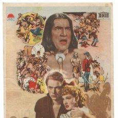 Cine: SENCILLO VENGANZA INDIA 1948 CINE CULTURAL RECREATIVO DE E. D. STA COLOMA DE QUERALT. Lote 289831313