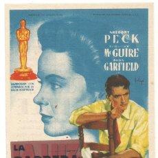 Cine: SENCILLO LA BARRERA IMVISIBLE 1950 CINE CULTURAL RECREATIVO DE E. D. STA COLOMA DE QUERALT. Lote 289835668