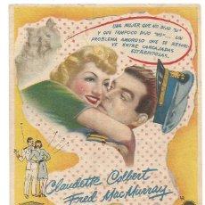 Cine: SENCILLO BODAS BLANCAS 1948 CINE CULTURAL RECREATIVO DE E. D. STA COLOMA DE QUERALT. Lote 289840448