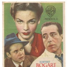 Cine: LA SENDA TENEBROSA 1949 FESTIVIDAD DE SAN JAIME CINE C. RECREATIVO DE E. D. STA COLOMA DE QUERALT. Lote 289842188