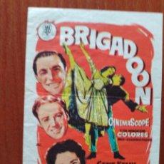 Cine: BRIGADOON (CON PUBLICIDAD). Lote 289854713