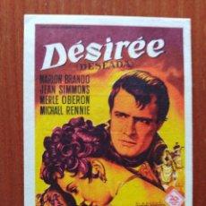 Cine: DESIREE (CON PUBLICIDAD). Lote 289857658