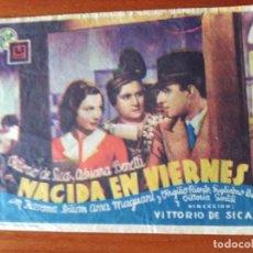 Cine: NACIDA EN VIERNES. Lote 289859348