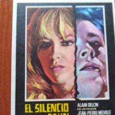 Cine: EL SILENCIO DE UN HOMBRE. Lote 289859808