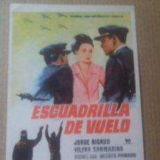 Cine: ESCUADRILLA DE VUELO. Lote 289873038