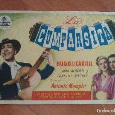 Cine: LA CUMPARSITA -SIN PUBLICIDAD. Lote 290970293