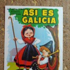 Cine: FOLLETO DE MANO DE LA PELICULA ASI ES GALICIA. Lote 291861888