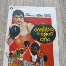 Cine: EL MARINO DE LOS PUÑOS DE ORO .. Lote 291890353