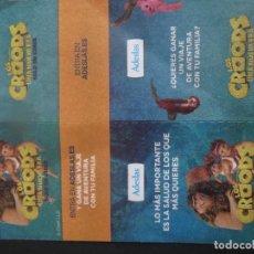 Cine: LOS CROODS UNA NUEVA ERA. Lote 292046668