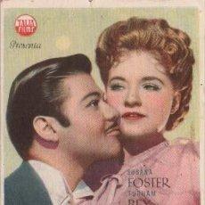 Cine: MISTERIO EN LA OPERA CON SUSANA FOSTER Y BRIS KARLOFF. Lote 292390153