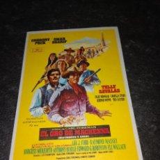 Folhetos de mão de filmes antigos de cinema: PROGRAMA DE MANO ORIG - EL ORO DE MACKENNA - SIN CINE IMPRESO AL DORSO. Lote 292614478
