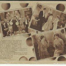 Cine: PTCC 099 LAS CASTIGADORAS DE BROADWAY PROGRAMA DOBLE CINAES VERDAGER NANCY WELFORD. Lote 293307008