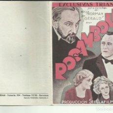 Cine: PTCC 099 ROCAMBOLE PROGRAMA DOBLE EXCLUSIVAS TRIAN ROLLA NORMAN JIM GERALD. Lote 293311928