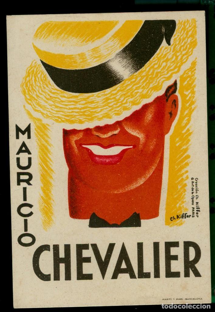 MAURICIO CHEVALIER (Cine - Folletos de Mano - Comedia)