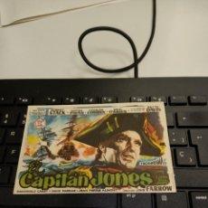 Folhetos de mão de filmes antigos de cinema: PROGRAMA DE MANO ORIG - CAPITAN JONES - SIN CINE IMPRESO AL DORSO. Lote 294144823