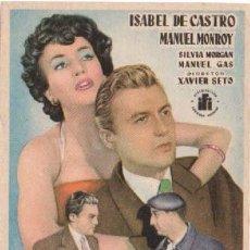 Cine: MERCADO PROHIBIDO CON ISABEL DE CASTRO Y MANUEL MONROY. Lote 294432398