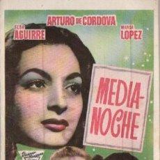 Cine: MEDIANOCHE CON ARTURO DE CORDOVA. Lote 294432933