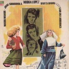 Cine: MELOCOTON EN ALMIBAR CON MARIA MAHOR, MARGA LOPEZ, CARLOS LARRAÑAGA.... Lote 294434093