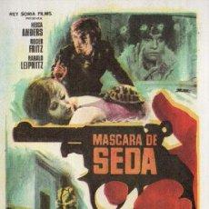 Cine: MASCARA DE SEDA. Lote 294437838