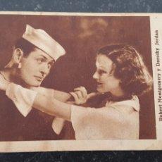 Cine: COMPAÑEROS - PROGRAMA DE CINE - ROBERT MONTGOMERY - 1932,33 - MGM.. Lote 294497448