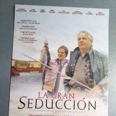Cine: POSTAL CINE LA GRAN SEDUCCIÓN PELÍCULA. Lote 294957068