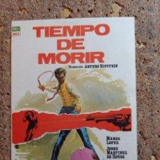 Cine: FOLLETO DE MANO DE LA PELICULA TIEMPO DE MORIR. Lote 295041288