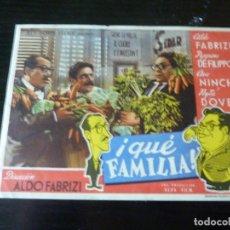Cine: PROGRAMA DE CINE IMPRESO EN LA PARTE TRASERA. Lote 295339608