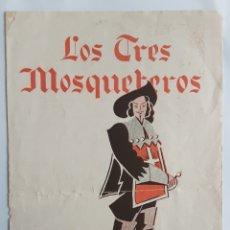 Cine: LOS TRES MOSQUETEROS AÑO 1934. Lote 295359273